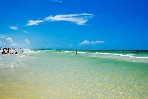 Mustang Island Ocean Beach
